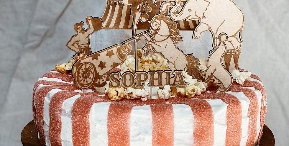 Cake Topper Set Zirkus