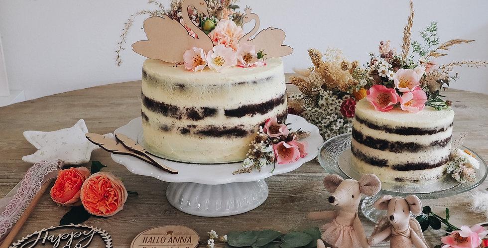 Cake Topper Set Ballerina
