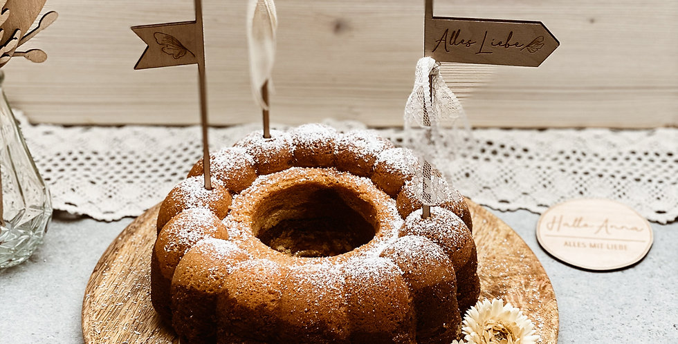 Cake Topper Fahnen