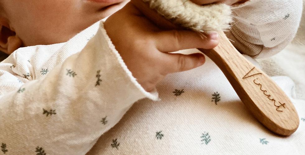 Babybürste mit Wunschgravur