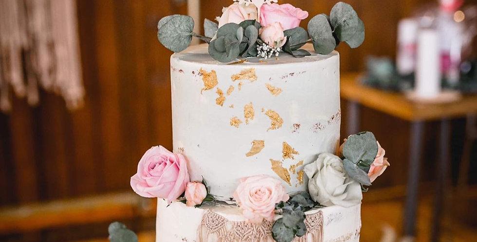 Cake Topper Kranz // 2x Wunschnamen