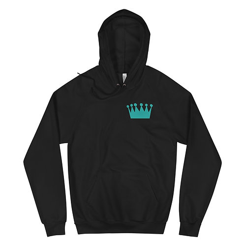 Teal Alternate - Unisex Fleece Hoodie