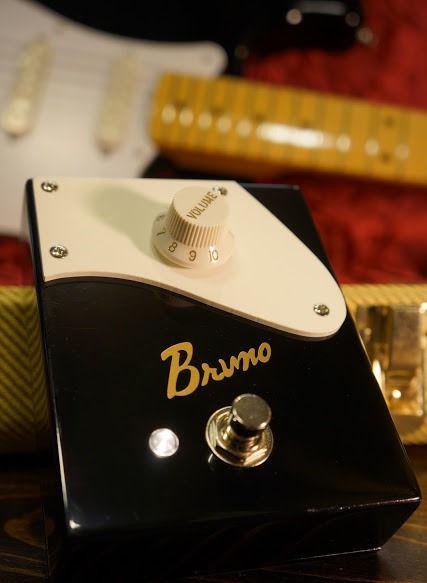Bruno BB-1 ブルーノ エフェクター ブースター ナチュラル クリーン Bruno BB-1 LED 電球色 歪み プリアンプ ストラト
