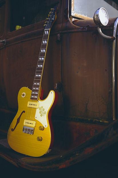 Bruno TN-295 ブルーノギターズ 大野楽器 P-90 レリック
