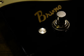 Bruno BB-1 LED 電球色 ブースター 歪み プリアンプ ストラト