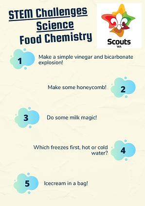STEM Challenges - Science - Kitchen Chem