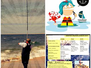 Programme pêche adulte 2015