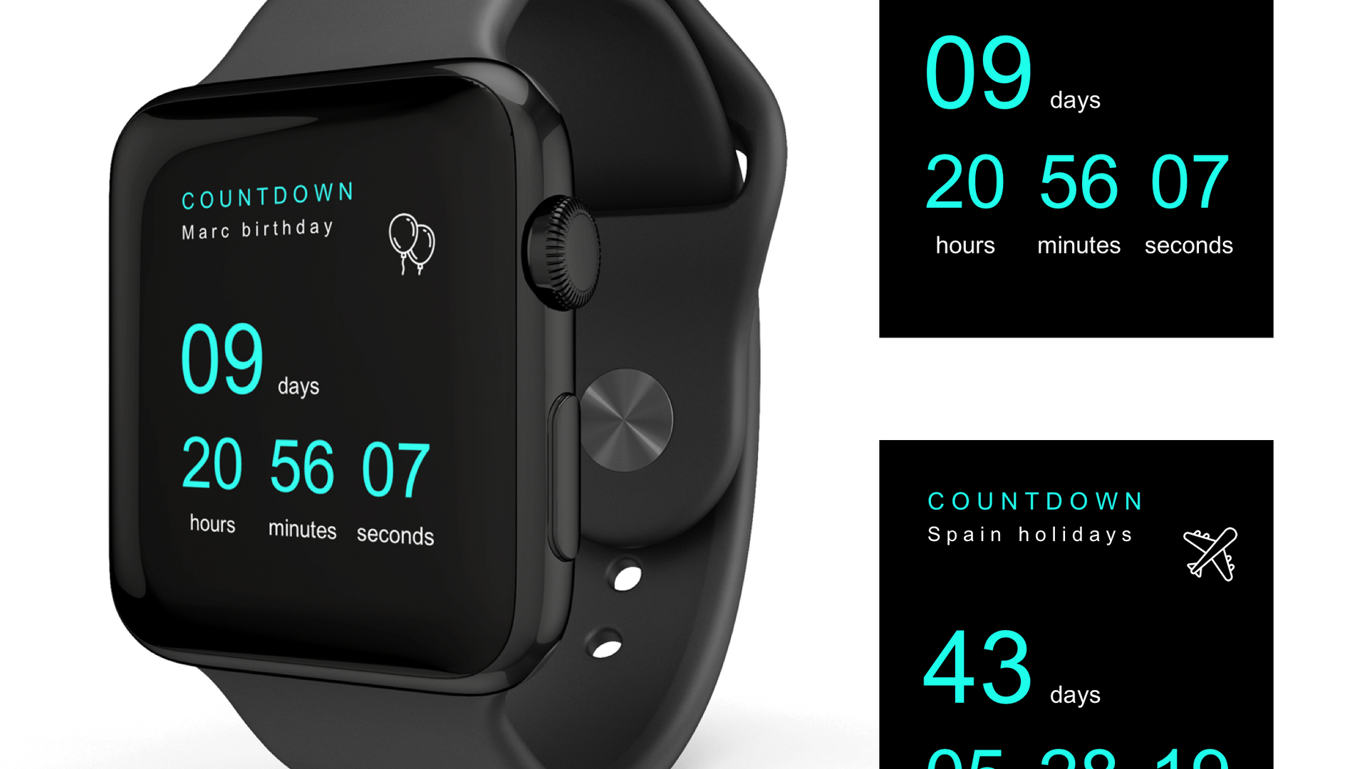 countdown apple watch.