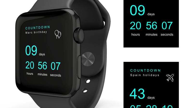 countdown apple watch.