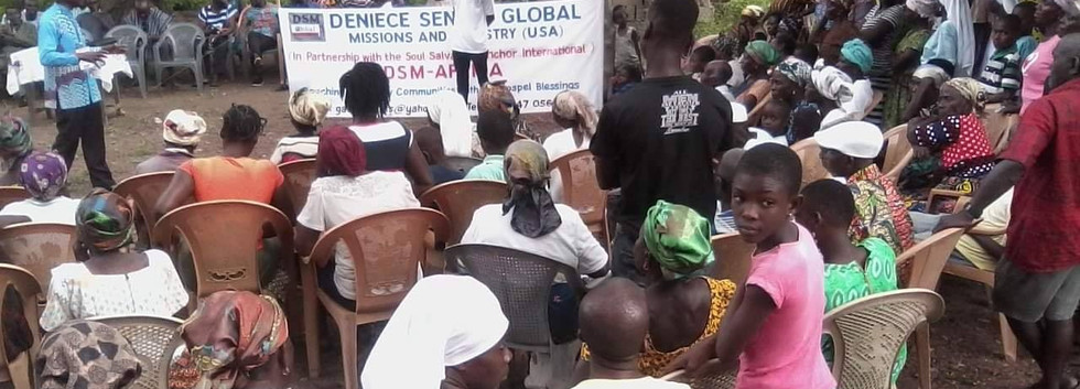 DENIECE SENTER MINISTRIES - AFRICA
