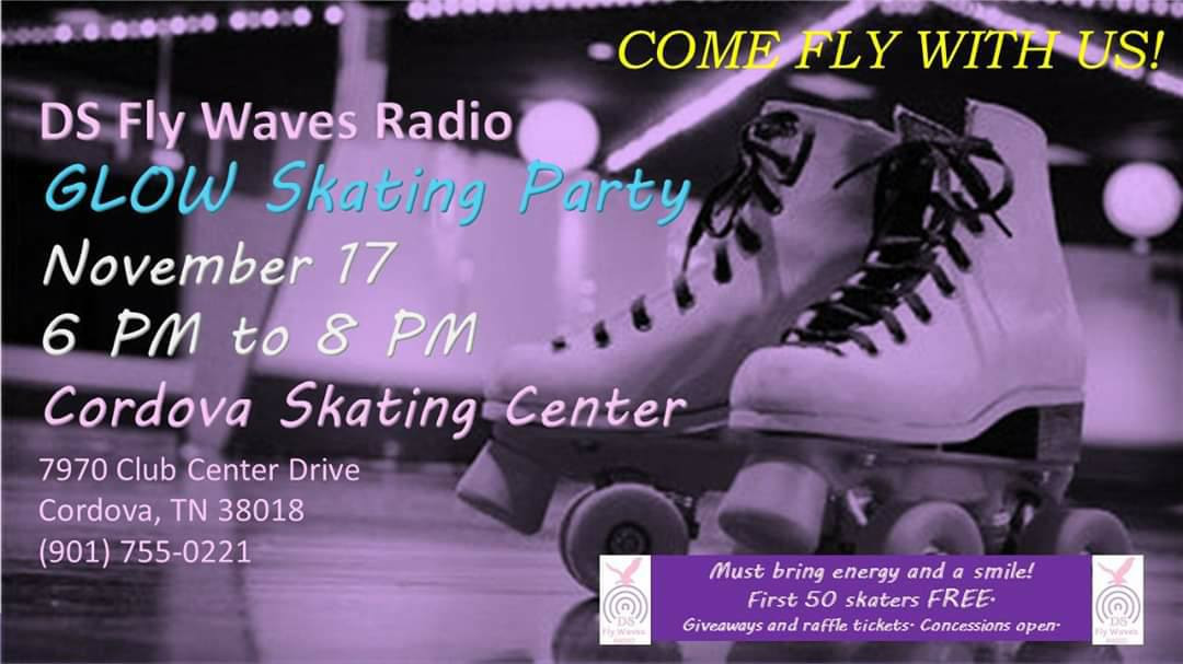 DS Fly Waves Radio Glow Skate Party