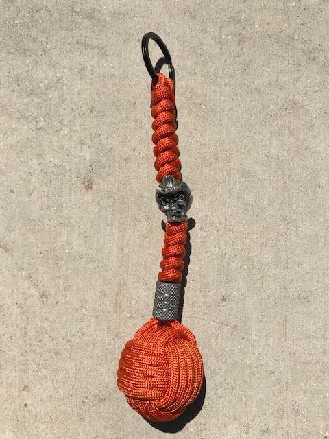 Monkey Fist Key Chain w/ball bearing