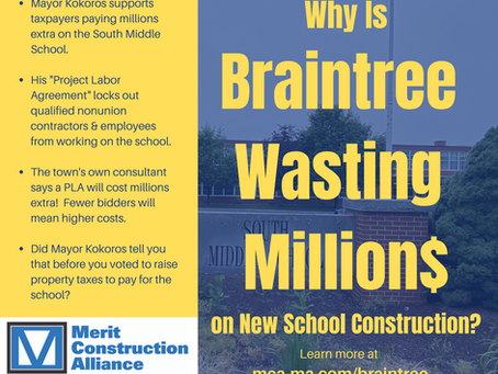 Judge Issues Injunction to Block Braintree's Anti-Merit Shop Policy