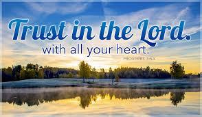 Trust God fully … possible?  T.H.R.I.V.E.