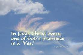 Two bold promises . . . from Jesus, our promise keeper.