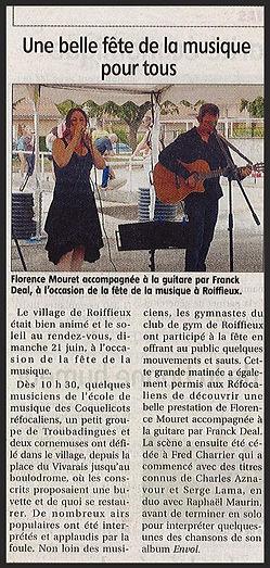 A Petits Pas - Fête de la musique 2015
