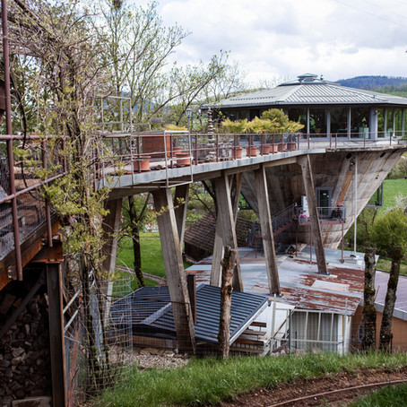 Leben im Bergwerksilo: Ein einzigartiges Zuhause mit Rundumsicht auf ganz Herznach