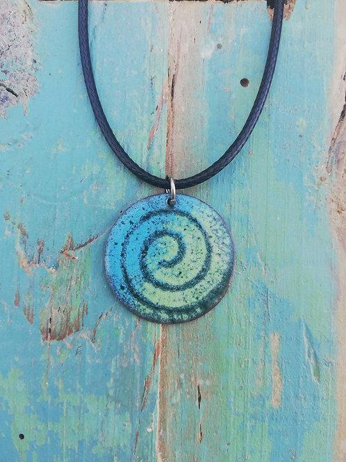 Celtic Spiral Necklace