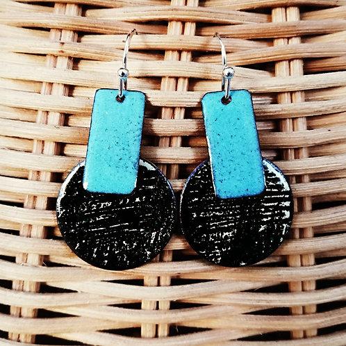 Meadhbh Enamel Earrings