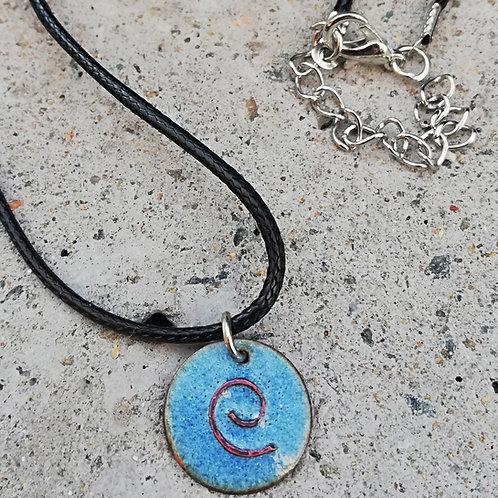 Copper Celtic Spiral Necklace