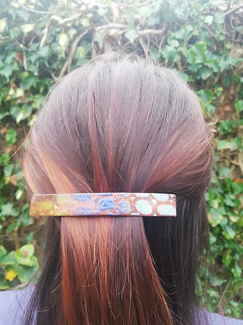 Enameled Hair Clip