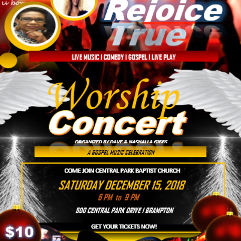 Rejoice! True Worship Concert