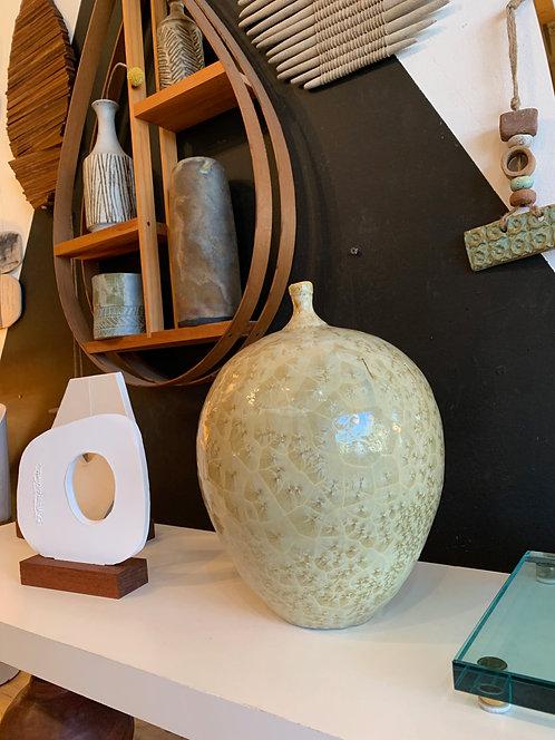 Large Ceramic Vintage Bud Vase