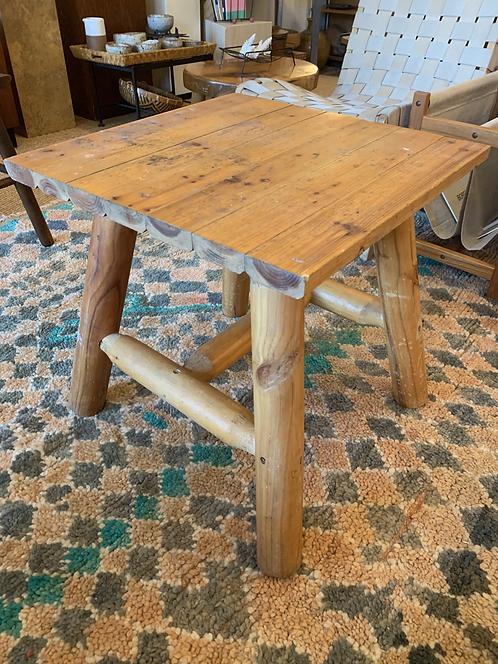 Pine Primitive Table