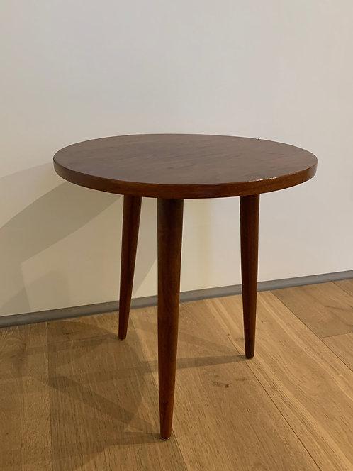 MCM 3 legged Side Table