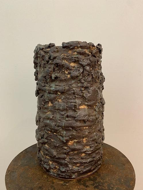 Large Sculptural Textural Vase