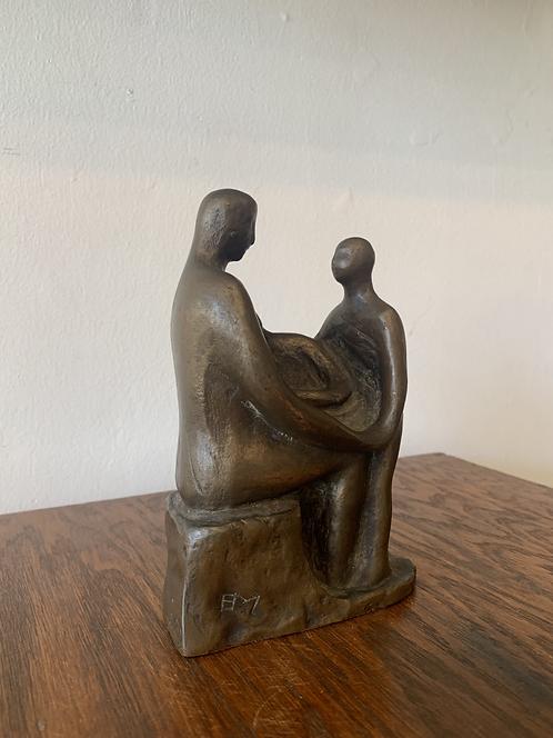 Bronze Family Sculpture