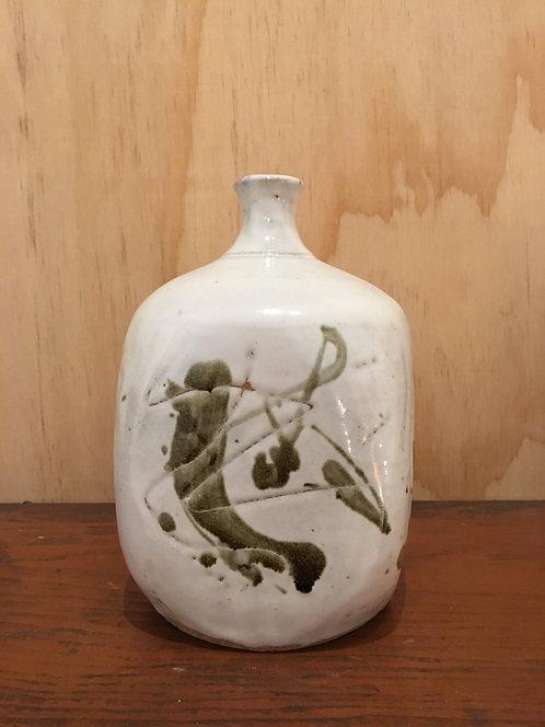 Japanese Vintage Abstract Bud Vase