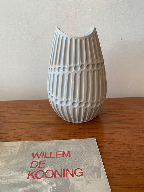 Porcelain Carved Vase