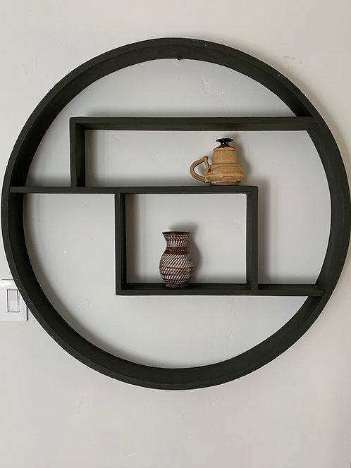 Mid Century Modern Circle Shelf