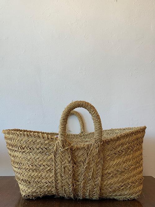 Alpha Grass Low Basket - Large