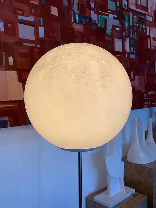 Robert Sonneman rare 1960's globe lamp