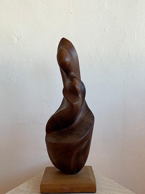 Mother - Wooden Sculpture