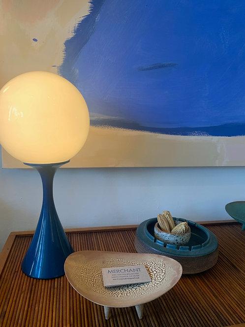 Blue Laurel Lamp