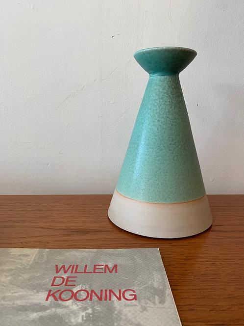 Large Turquoise Vase