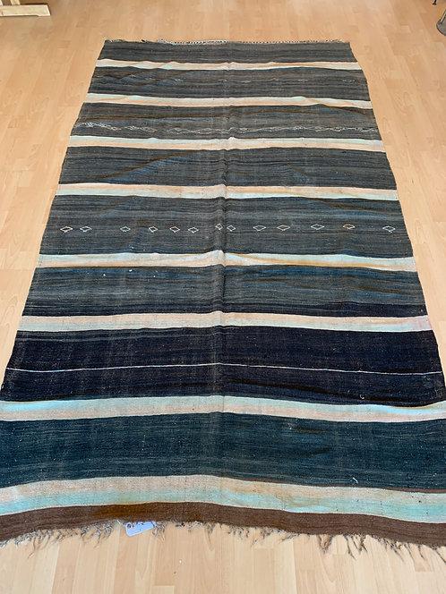 Gloui stripe Moroccan Rug/ Blanket