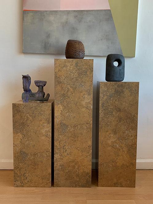 Set of three tiered Laminate Pedestals