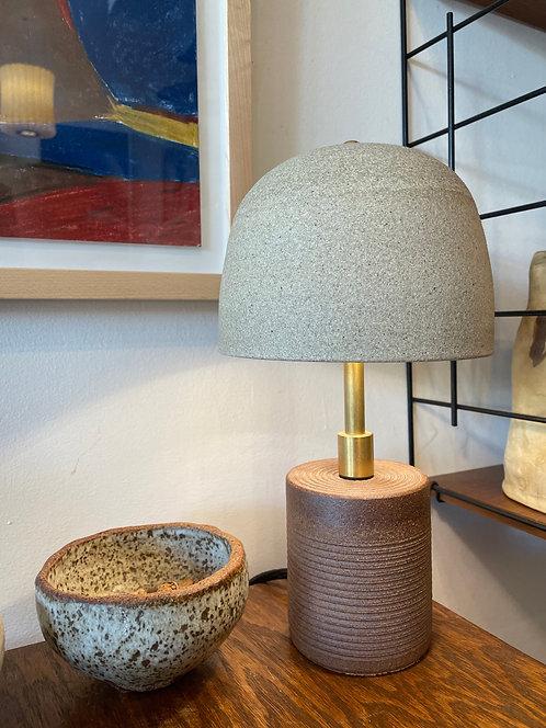 Ceramic Mushroom Lamp