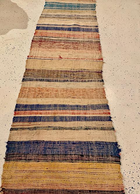 Vintage Moroccan Stripe Boujad Runner