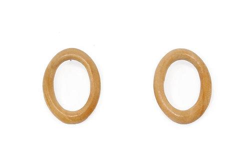 The Minimal Ring Earrings