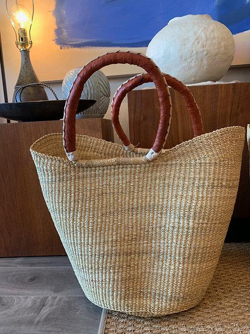 Market Basket w/ Leather