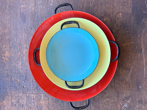 Set of 3 Paella Dishes
