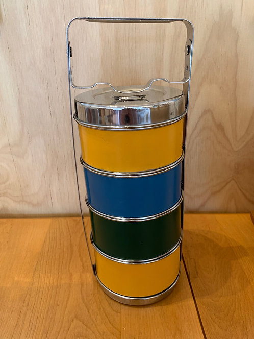Large Colorful Tiffin Lunchbox
