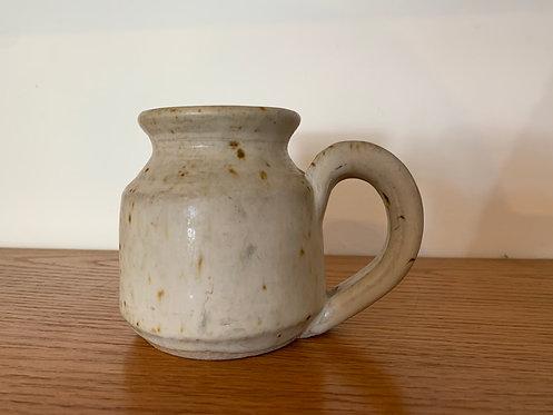 White Ceramic Speckle  Small Jug