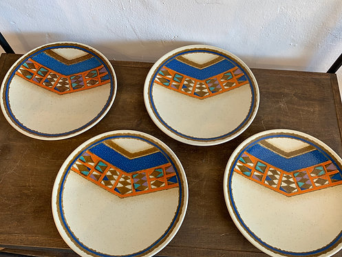 Set of 4 Vintage Mikasa Sm Plates