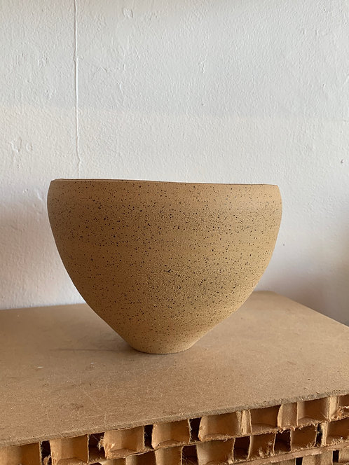 Tall Minimal Ceramic Bowl